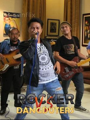 Poster of Rocker Vs Dangduters