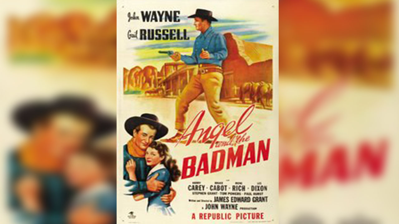 Poster of Angel and the Badman