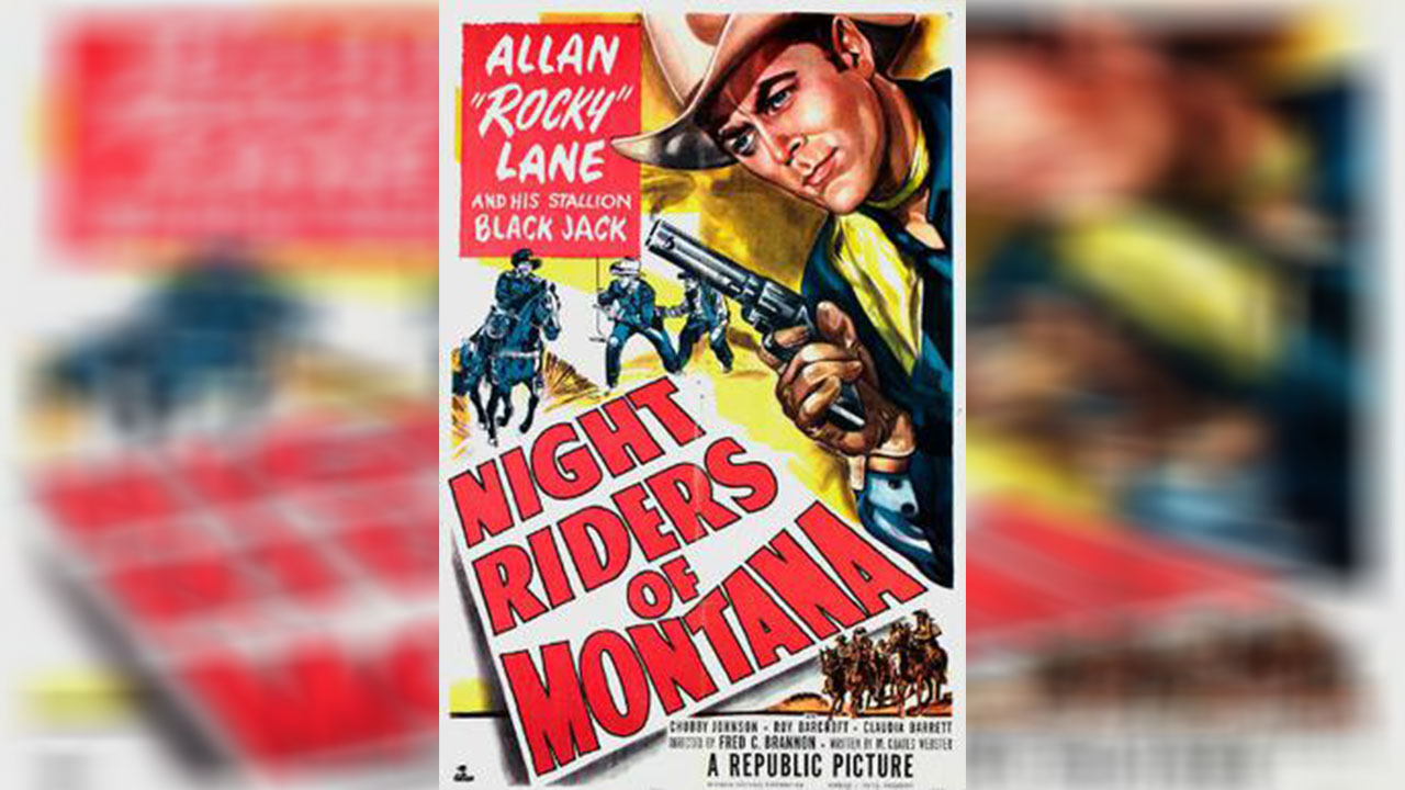 Poster of Night Riders Of Montana