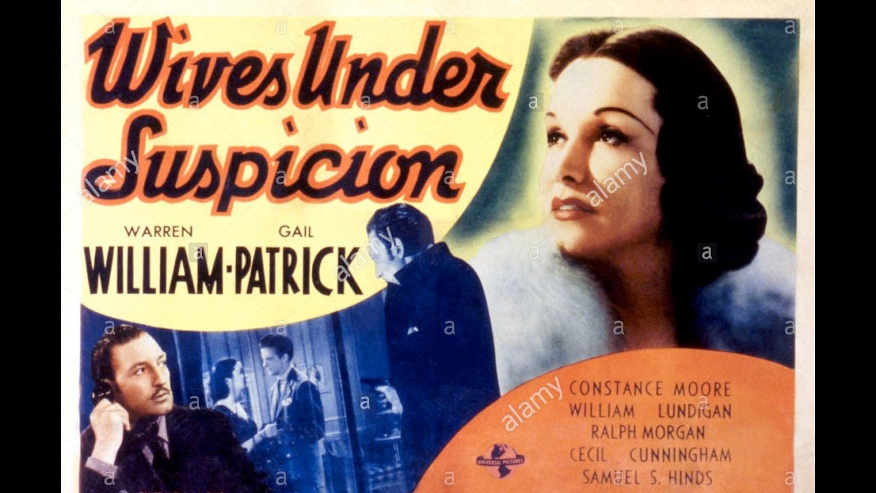 Poster of Wives Under Suspicion