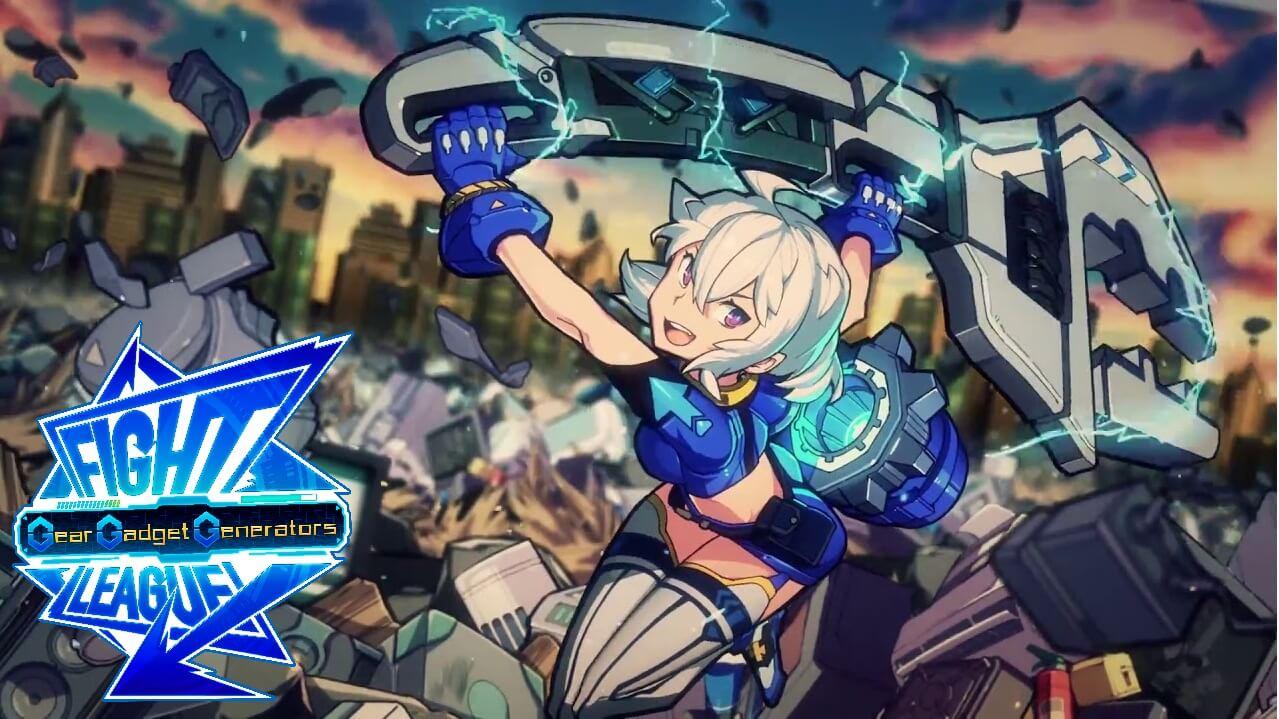 Poster of Fight League: Gear Gadget Generators Eps 1