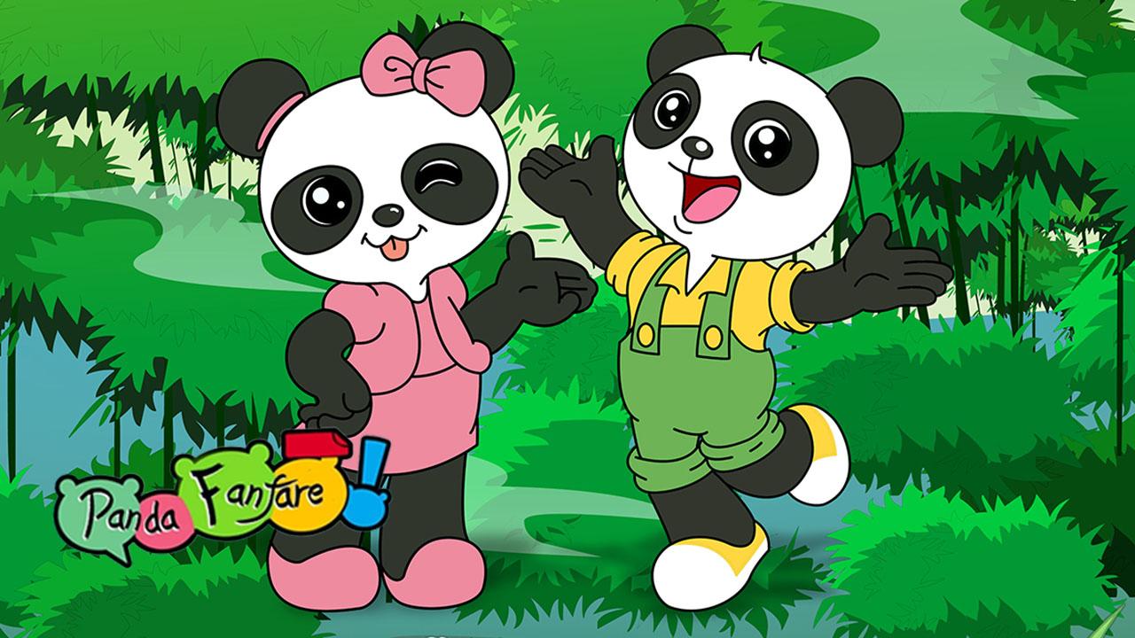 Poster of Panda Fanfare Eps 08
