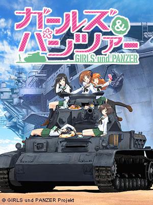 Poster of Girls Und Panzer Eps 08