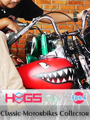 Poster of The Motor Bike Collectors Garage