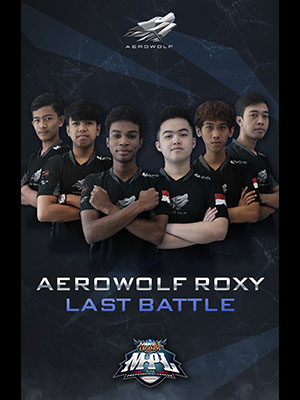 Poster of Aerowolf Roxy Last Battle